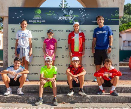 Sete atletas do Clube Ténis Santarém presentes no Campeonato Nacional de Ténis