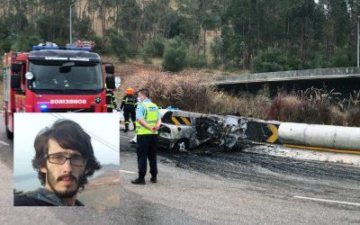 Jovem desaparecido em Almeirim é a vítima mortal do acidente na Circular Urbana de Santarém