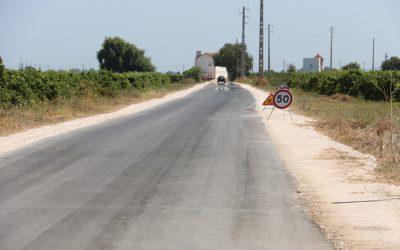 Estrada do Campo, que liga Ribeira de Santarém a Vale de Figueira, já tem novo pavimento