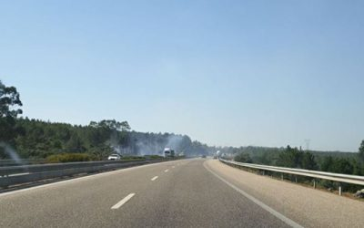 A1 cortada nos dois sentidos entre Fátima e Torres Novas