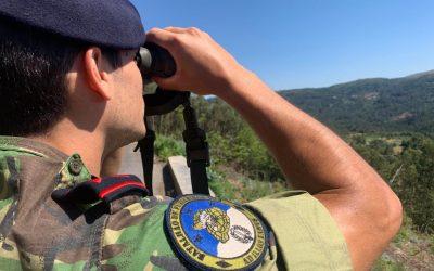 260 militares no terreno até sexta-feira para vigiar e prevenir fogos florestais