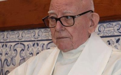 Faleceu o padre Fernando de Brito, fundador do Centro Social e Paroquial da Serra.