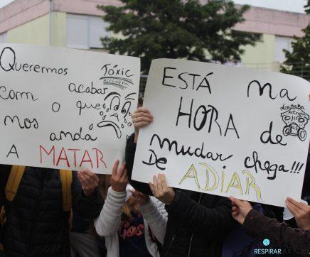 SOS Alcanena cancela manifestação de protesto contra episódios de poluição no concelho