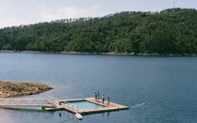 Em Fontes, nasceu uma nova praia fluvial com Bandeira Azul