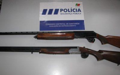 PSP apreende armas em processo de violência doméstica