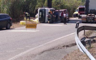 Acidente provoca dois feridos na Raposa