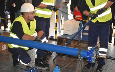 Águas do Ribatejo investe 370 mil euros na substituição de condutas em Salvaterra de Magos