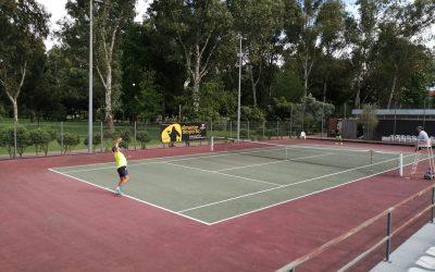 Obras encerram campos de ténis de Almeirim
