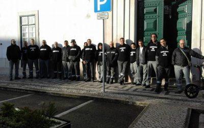Trabalhadores dos CTT voltam a manifestar-se em Santarém