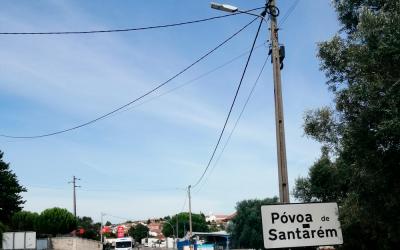 Câmara de Santarém instala mais 3076 luminárias LED em várias freguesias do concelho