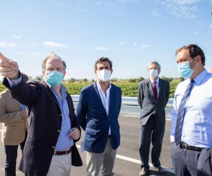 Secretário de Estado da Agricultura inaugura ponte D. Manuel para servir agricultores de Almeirim