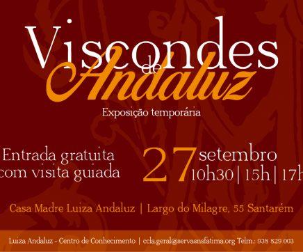 Casa Madre Luiza Andaluz recebe exposição