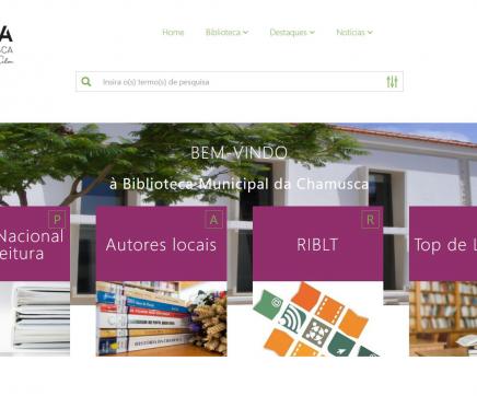 Biblioteca da Chamusca tem novo portal na internet