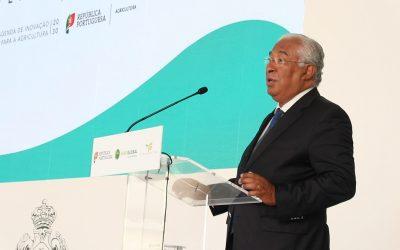 """Costa coloca agricultura """"no centro das preocupações"""" e inovação no sector como prioridade"""