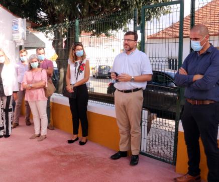 Inauguradas obras de beneficiação da Escola EB1 e JI de Casével