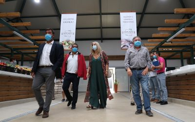 VÍDEO | Mercado de Alpiarça reabre ao público após obras de requalificação