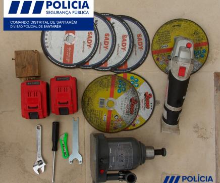 Detido por furto de peça automóvel em Santarém