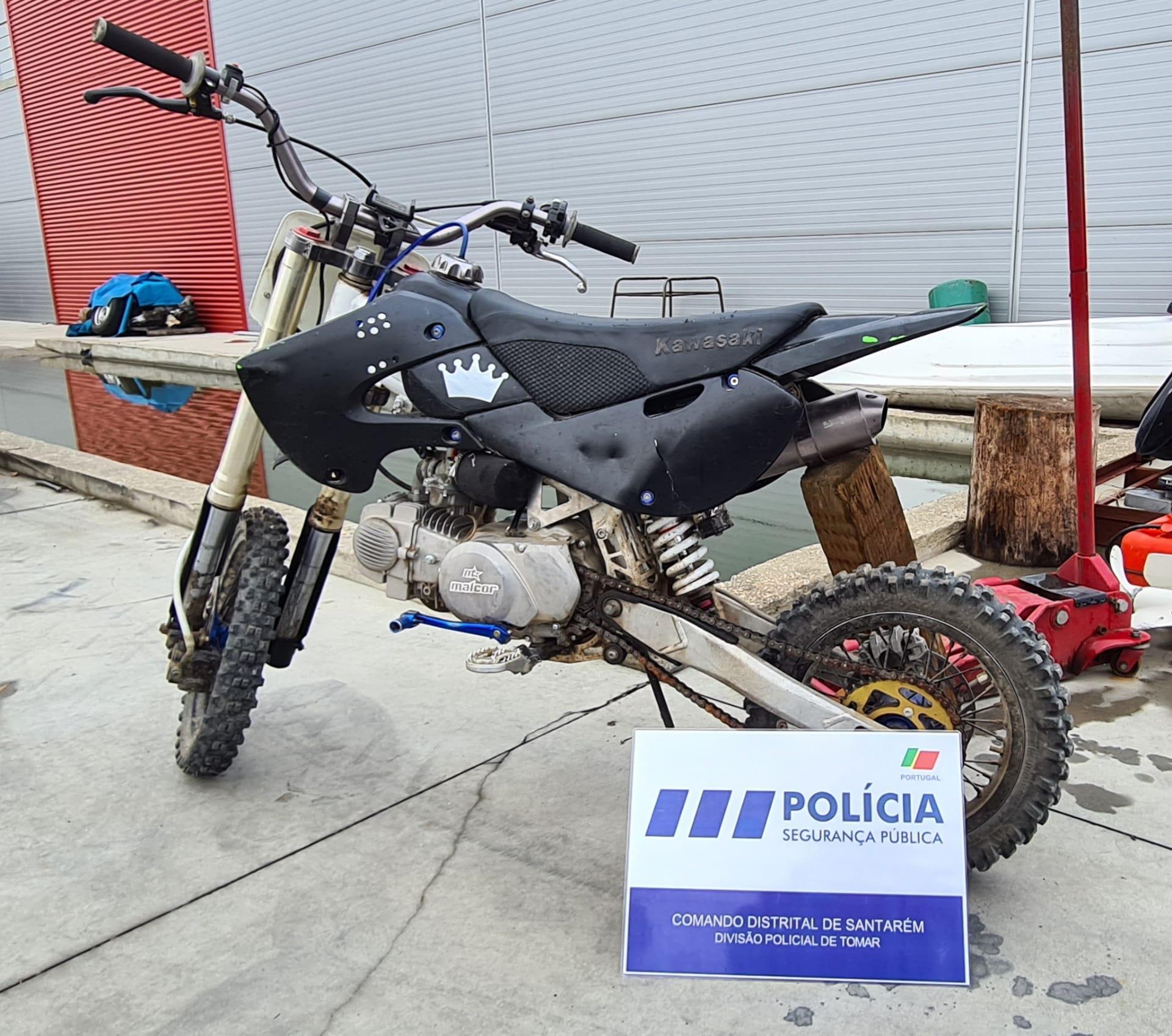 PSP recupera moto furtada