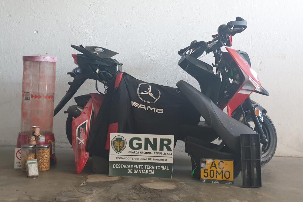 GNR recupera material furtado em Vale de Figueira