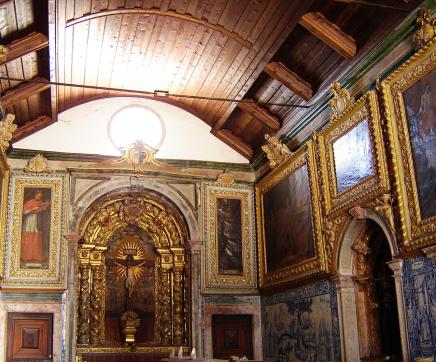 A Capela Dourada de Santarém em restauro