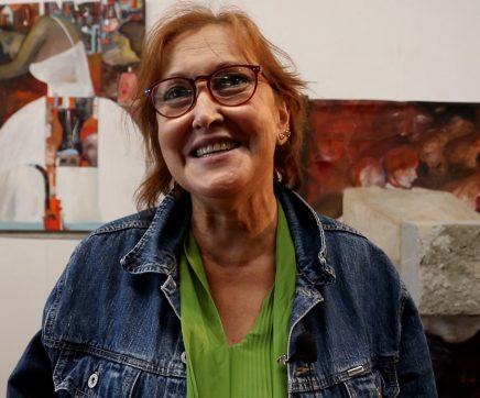 "VÍDEO | Fernanda Narciso expõe ""Tudo de mim"" na Sala de Leitura Bernardo Santareno"