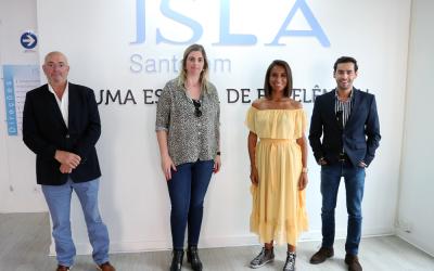 VÍDEO   ISLA Santarém dá as boas-vindas aos alunos no início do novo ano lectivo