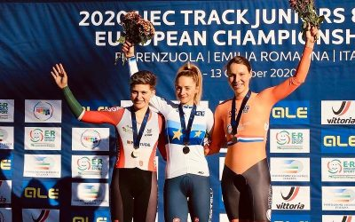 Maria Martins conquista prata no Campeonato da Europa de Pista