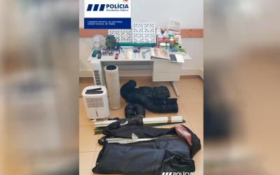 Homem detido pela PSP por tráfico de droga