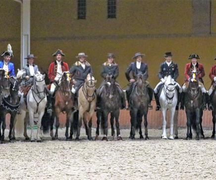 Escola Portuguesa de Arte Equestre homenageou Feira Nacional do Cavalo em dia de S. Martinho