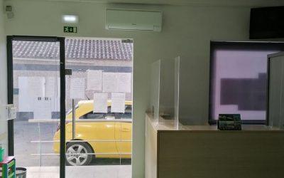 Abrã recebe apoio para instalação de ar condicionado na USF