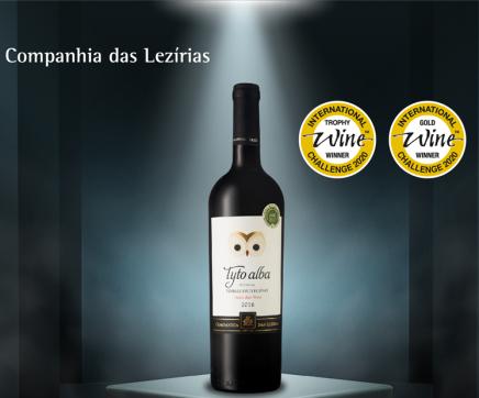'Tyto alba tinto 2016' entre os 30 melhores vinhos do mundo