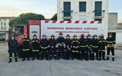 Bombeiros do Cartaxo reforçam competências para apoiar população em situações de catástrofe