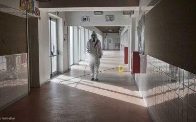 Escola do Mergulhão encerra para desinfecção