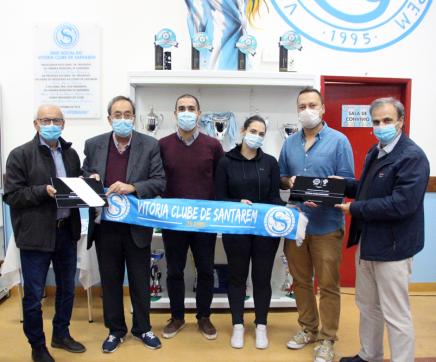 Escola de Futsal do Vitória de Santarém obtém certificação de 7 estrelas